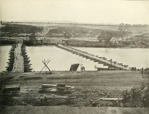 fredericksburg pontoon bridges