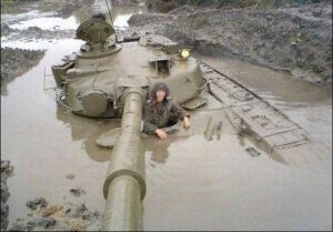 Mud is a timeless military problem!