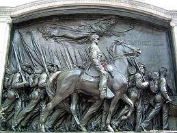 54th Mass monument in Boston