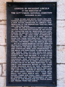 Copy of the Address in the cemetery at Antietam